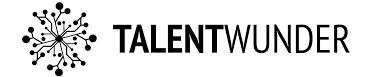 Logo Talentwunder weiß